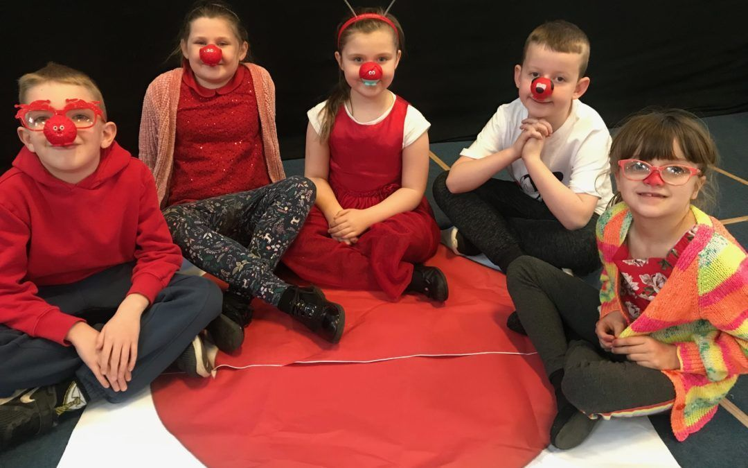 Pupils feel the funny to raise money for Comic Relief