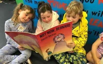 Pupils in the good books for Pyjamarama