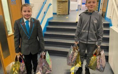 Young pupils in festive charity drive to help vulnerable people in Bradford